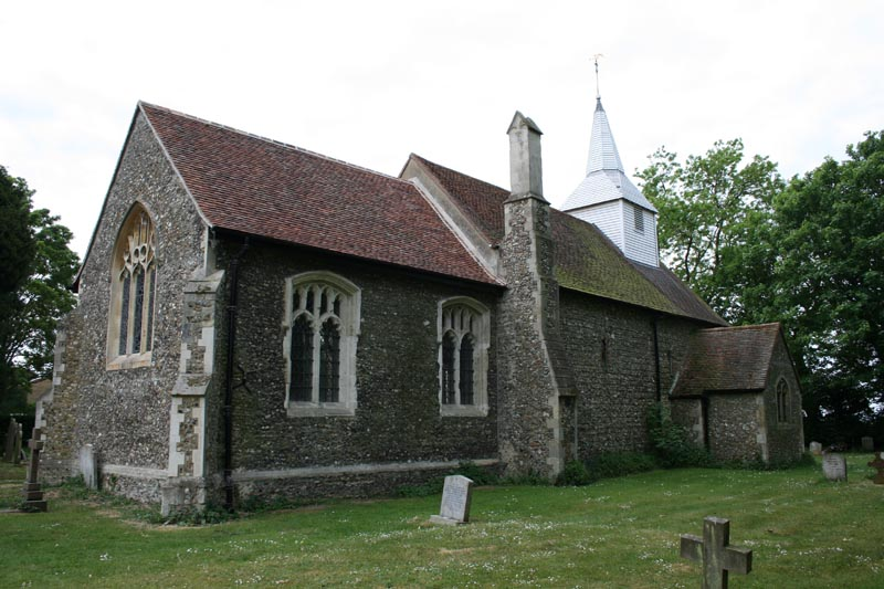 St Andrew and All Saints, Willingale Spain